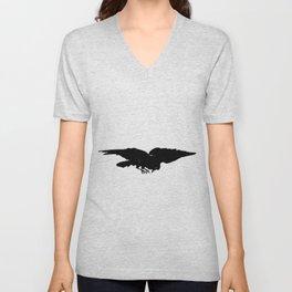 Edouard Manet - The raven by Poe 5 Unisex V-Neck