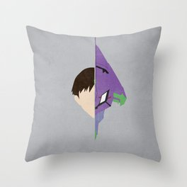 Shinji Throw Pillow