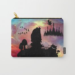 Back To Wonderland Carry-All Pouch