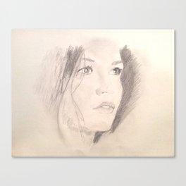 Catherine Zeta-Jones Canvas Print