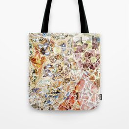 Mosaic of Barcelona IV Tote Bag