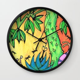 Ancient Tree Wall Clock