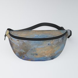 Ocean and Gold Fanny Pack