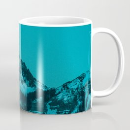 rocky mountain colorado last light Coffee Mug