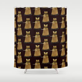 Dalek Army Shower Curtain