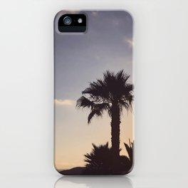 Malibu sunsets iPhone Case