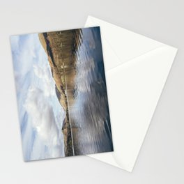 Grasmere and Helm Crag (Lion and the Lamb) beyond. Cumbria, UK. Stationery Cards