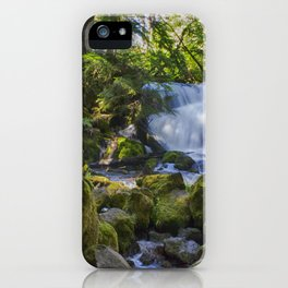 Pearsoney Falls - Prospect, OR iPhone Case