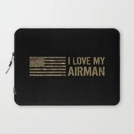 I Love My Airman Laptop Sleeve