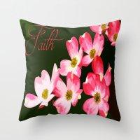 faith Throw Pillows featuring faith by Shea33