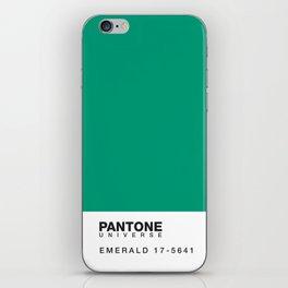 Pantone 17-5641 iPhone Skin