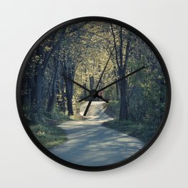 The love trail Wall Clock