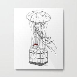 Jelly Balloon Metal Print