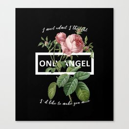Harry Styles Only Angel Artwork Canvas Print