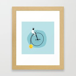 My bike Framed Art Print