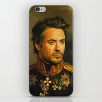 replaceface iPhone & iPod Skins featuring Robert Downey Jr. - replaceface by replaceface