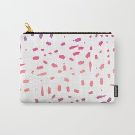 Arizona Sunset Over Watercolor Spots Carry-All Pouch