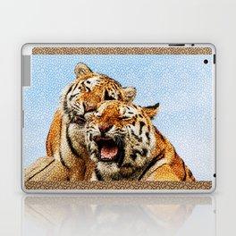 TIGERS - DOUBLE TROUBLE Laptop & iPad Skin