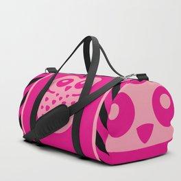 Cute Pink Baby Owl Duffle Bag