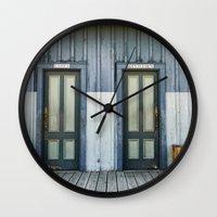 bathroom Wall Clocks featuring Bathroom Doors by Agrofilms