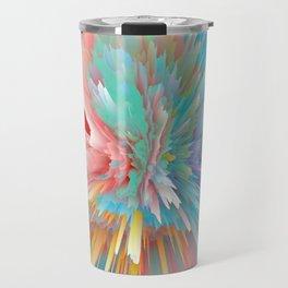 Bursting colours Travel Mug