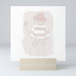 ILLUSTRATION SARA Mini Art Print