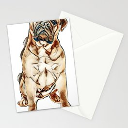 love my dog Stationery Cards