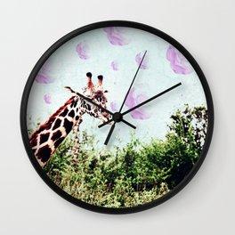 Dreams of Roses Wall Clock