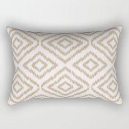 Sumatra in Tan Rectangular Pillow