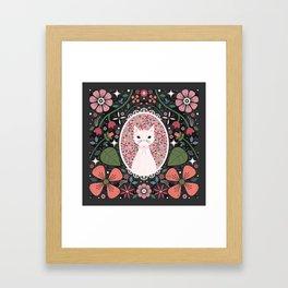 Kitten Cameo  Framed Art Print