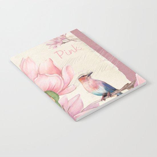 Macro flower #10 Notebook