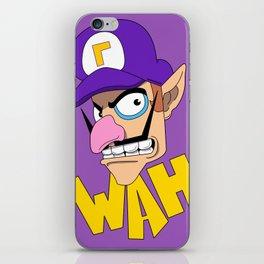 WAH! Waluigi iPhone Skin
