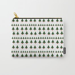 Ugly Sweater Christmas Trees - Pixel Art Carry-All Pouch