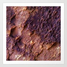 Planet surface — Callisto (Jupiter) Art Print