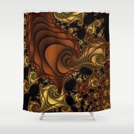 Cornucopia Fractal Shower Curtain