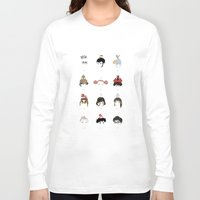 hayao miyazaki Long Sleeve T-shirts featuring Miyazaki 's World by Jarvis Glasses