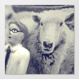 Sheepish Canvas Print