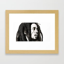 Robert Marley Framed Art Print