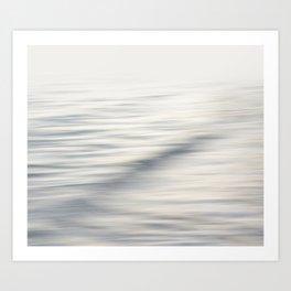 Silent Waterscape Art Print