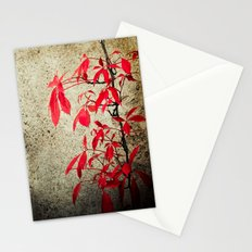 Castle Gate Red Creeper Stationery Cards