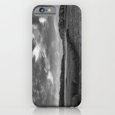 Sky and Marsh Black and white iPhone 6s Slim Case