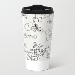 Botanical Bold Metal Travel Mug