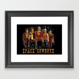 Space Cowboys Framed Art Print
