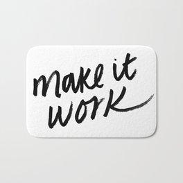 Make it Work Bath Mat
