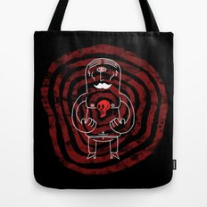 The Lonely Cyclops of Skull Isle Tote Bag