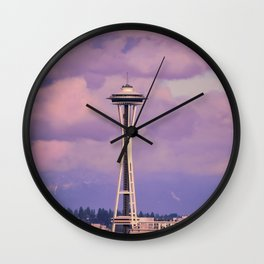 Seattle Space_Needle Wall Clock