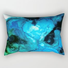 Light From Above the Water Rectangular Pillow