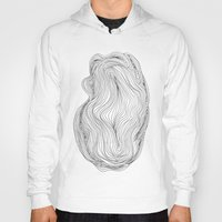 waves Hoodies featuring Waves by Maggie Dylan