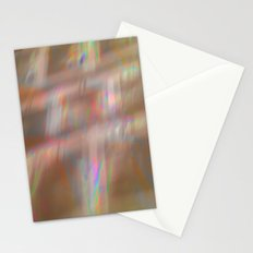 Holographic pattern Stationery Cards