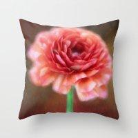 persian Throw Pillows featuring Persian Buttercup by ThePhotoGuyDarren